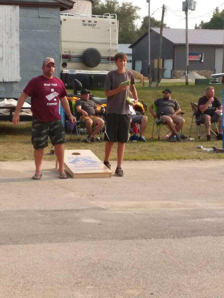 Canton Day Off - Boomer Backyard BBQ Contest - Bean Bag Tournament, Poker Run